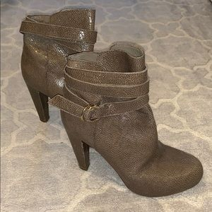 Loefller Randall ankle wrap booties